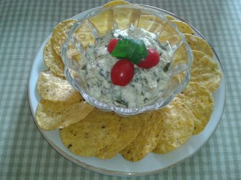 The Fresh Spinach and Artichoke Dip