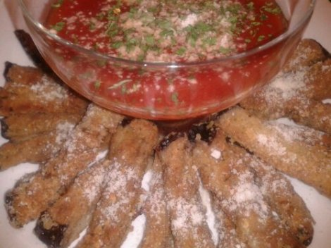 THE BAKED EGGPLANT FRIES
