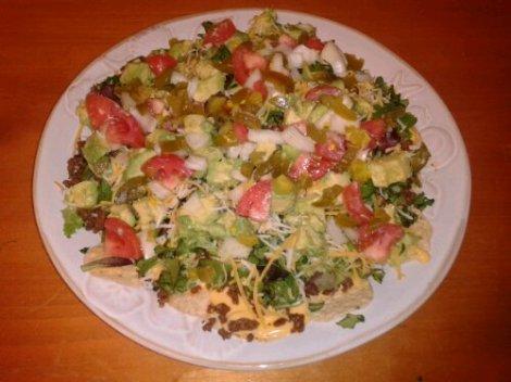 The Super Nachos Salad