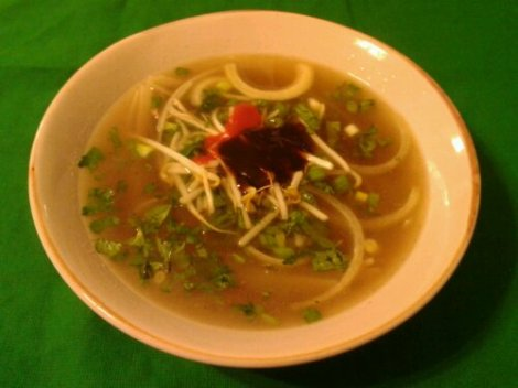 The Beef Pho Soup