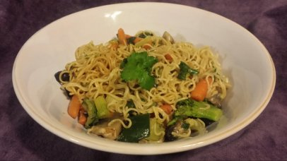 The 10 Minute Chinese Noodles with Vegetables