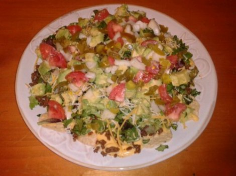The Super Nachos Salad
