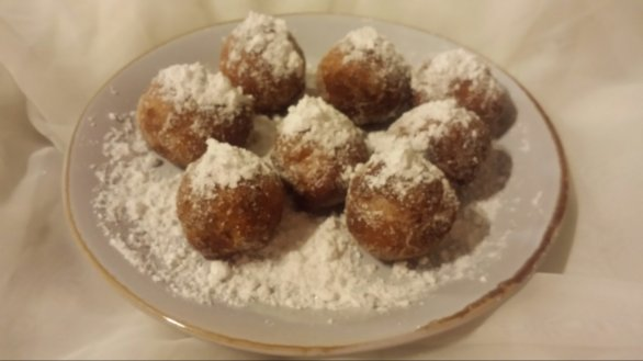 The Cream Cheese Doughnut Balls